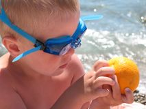 Smaak van de zomer stock foto's