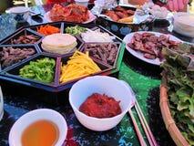 Smaak van Korea Stock Foto