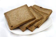 Smaakloos chocoladebrood Stock Fotografie