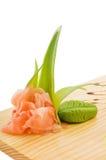 Smaakstof voor sushi stock afbeelding