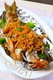 Smażąca ryba Zdjęcie Royalty Free