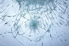 Smached glass Stock Photos