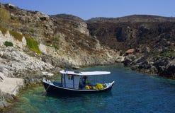 Smack in bay, Zakynthos island Stock Photo