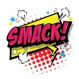 Smack! Comic Speech Bubble. Vector Eps 10. Stock Images