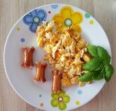 smaczne śniadania Fotografia Stock