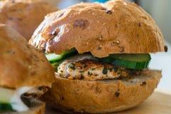 smaczny hamburger Fotografia Stock