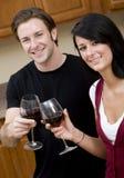 smaczny wino zdjęcia royalty free
