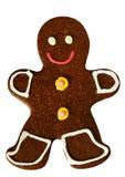 Smail gingersnap man. Stock Images