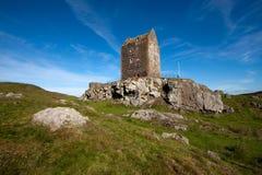 Smailholm塔,苏格兰边区 免版税库存图片
