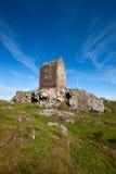 Smailholm塔,苏格兰边区 库存图片
