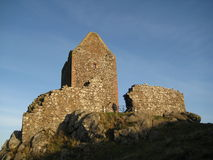 Smailholm Tower Stock Photo