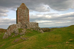 Smailholm Tower Royalty Free Stock Photos