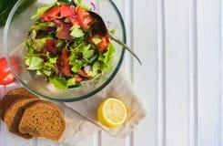 Smak av det vegetariska sommarbegreppet Arkivbilder