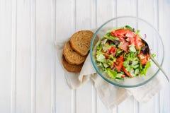 Smak av det vegetariska sommarbegreppet Arkivbild