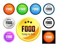 Smak och Eco mat Royaltyfri Fotografi