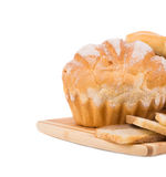 Smakelijk brood Royalty-vrije Stock Afbeelding