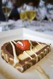 Smakelijk dessert Royalty-vrije Stock Afbeeldingen