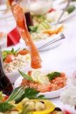 Smakelijk diner Stock Foto's
