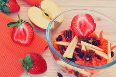 Smakelijk en gezond! Royalty-vrije Stock Fotografie