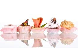 Smakelijk gebakje Stock Afbeeldingen