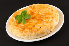 Smakelijk Gevuld Zoet brood met rozijnen en kokosnoot Royalty-vrije Stock Foto's