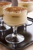 Smakelijk Italiaans dessert Stock Afbeeldingen