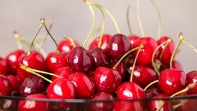 Smakelijk kersenfruit Stock Foto
