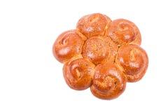 Broodje met sesam Stock Foto