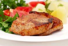 Smakelijk vlees stock foto's