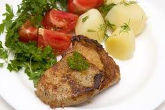 Smakelijk vlees royalty-vrije stock foto's
