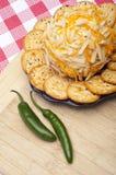 Smakelijk Voorgerecht Cheeseball royalty-vrije stock foto's