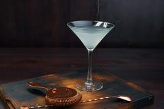 Smakelijke alcoholische cocktail 'Margarita ' royalty-vrije stock fotografie