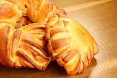 Smakelijke bakkerijproducten Royalty-vrije Stock Foto