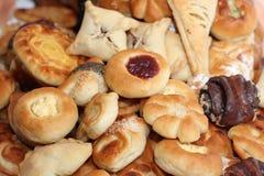 Smakelijke broodjes Royalty-vrije Stock Foto's