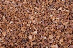 Smakelijke bruine suiker Stock Afbeeldingen
