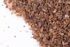 Smakelijke bruine suiker Royalty-vrije Stock Foto's
