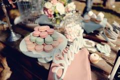 Smakelijke cake Royalty-vrije Stock Afbeeldingen