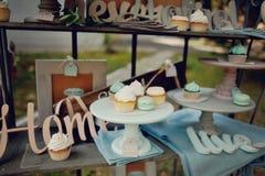 Smakelijke cake Stock Afbeeldingen