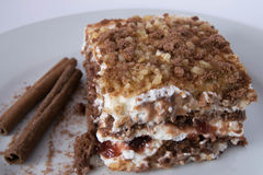 Smakelijke cake Stock Afbeelding