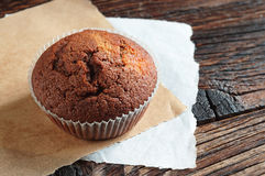 Smakelijke chocolade cupcake Royalty-vrije Stock Foto