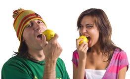 Smakelijke citroen Royalty-vrije Stock Foto's