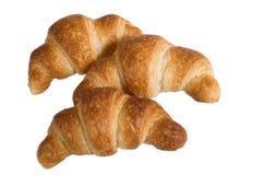 Smakelijke croissanten Stock Foto's