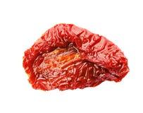 Smakelijke in de zon gedroogde tomaat royalty-vrije stock afbeelding