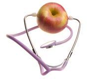 Smakelijke en nuttige appel Royalty-vrije Stock Afbeeldingen