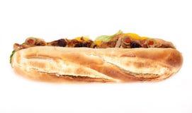Smakelijke Franse baguette Royalty-vrije Stock Afbeelding