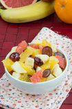 Smakelijke fruitsalade Royalty-vrije Stock Foto's