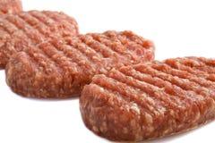 Smakelijke hamburger Stock Afbeeldingen