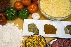 Smakelijke ingrediënten Royalty-vrije Stock Afbeelding