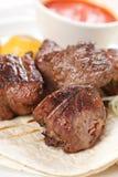 Smakelijke kebab Stock Fotografie
