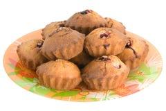 Smakelijke kersencakes Stock Fotografie